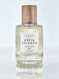 Eau de Parfum: Areia Salgada from Comporta, Portugal. Features: ozonic, citrus, green.