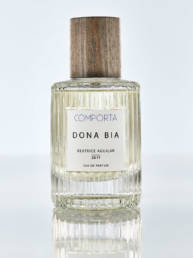 Eau de Parfum: Dona Bia from Comporta, Portugal. Features: spicy, gourmand, warm.